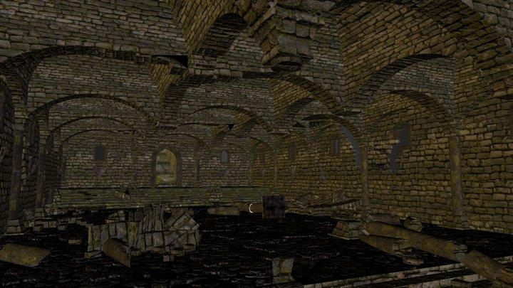 Dark Souls UNDEAD PARISH DEMON 3D Model