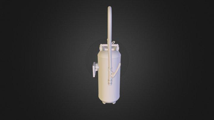 extincteur_obj 3D Model