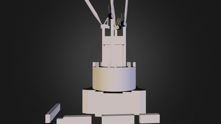 Shanghai Tower-Construction.dae 3D Model