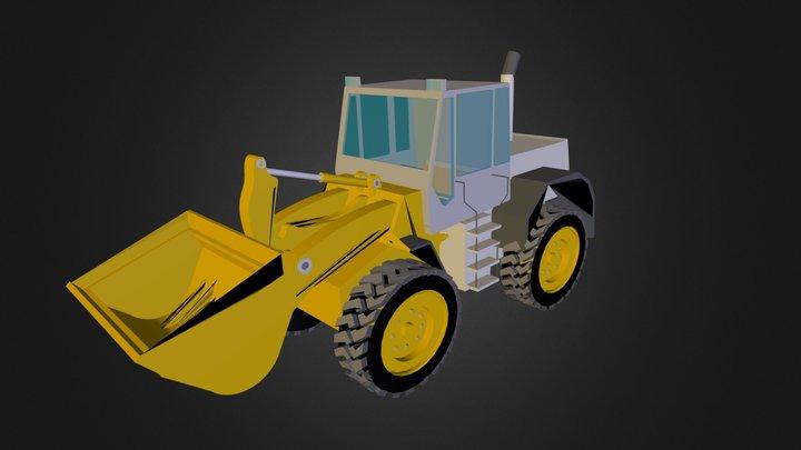 Front_End_Loader.fbx 3D Model