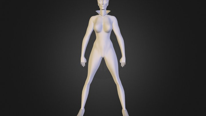 bw.obj 3D Model