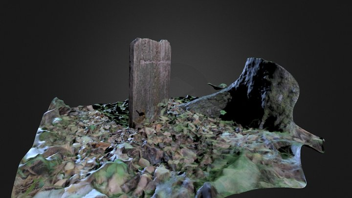Wooden Marker (ReMake) 3D Model