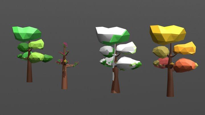 Le Quattro Stagioni 3D Model