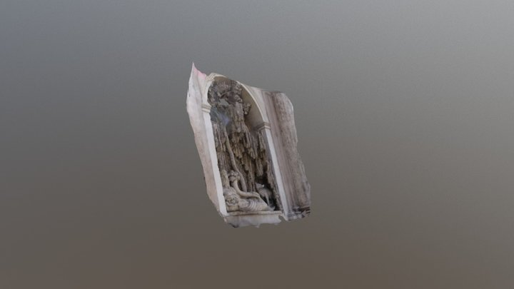 quattro fontane - Tevere - versione 3df Zephyr 3D Model