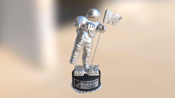 MTV Video Music Award (Moonman) 3D Model