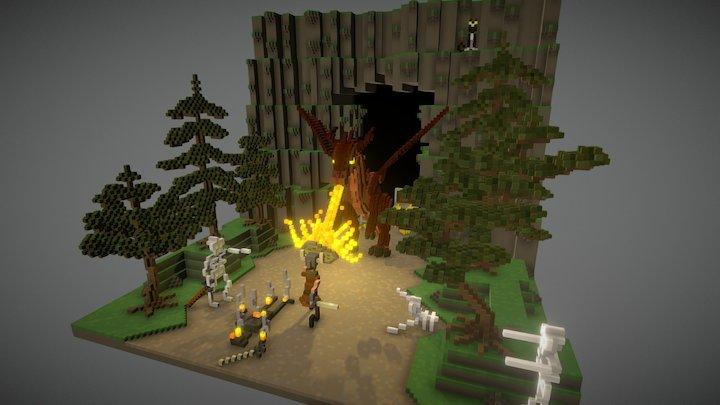 Battle 3D Model