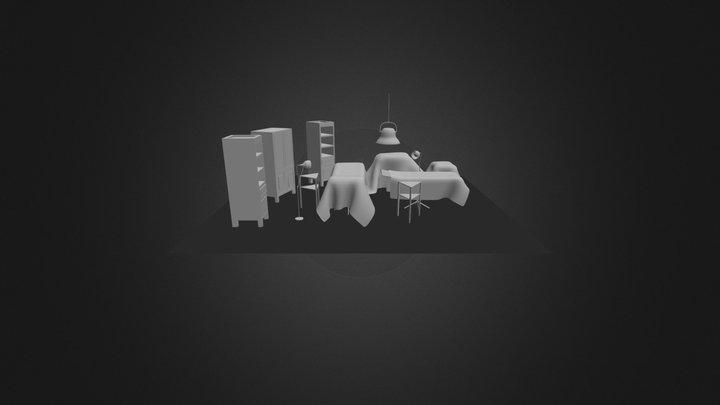 Ameliyat Odası 3D Model