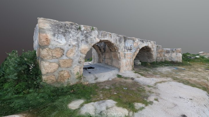 "Bir Alqaws ""Well of the Arch"" بئر القوس 3D Model"