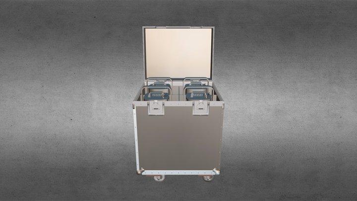 Case OBJ 3D Model