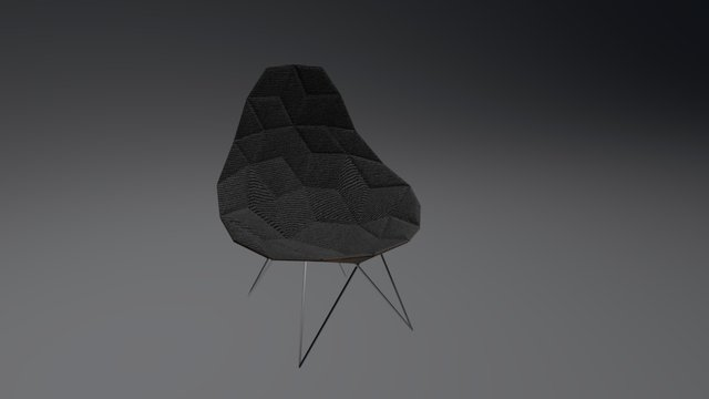 Modern Chill Chair 3D Model