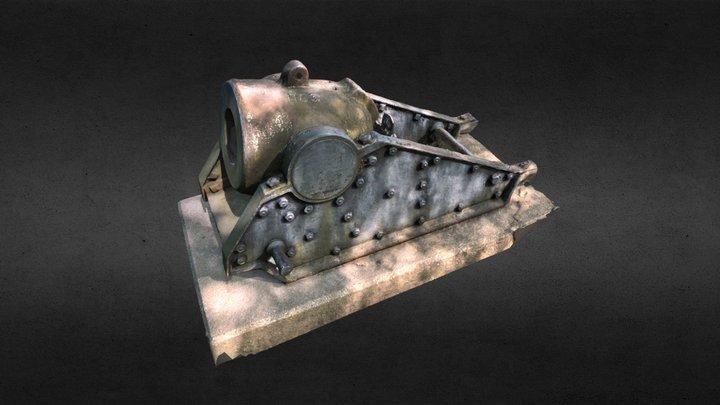 Mortar #1100 3D Model