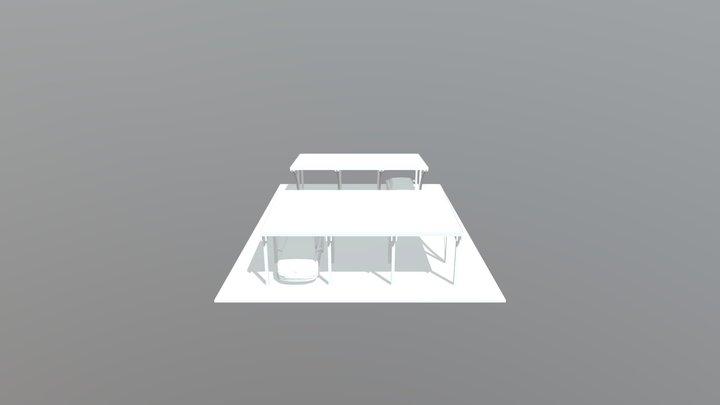 Posti Auto Sara e Matteo 3D Model