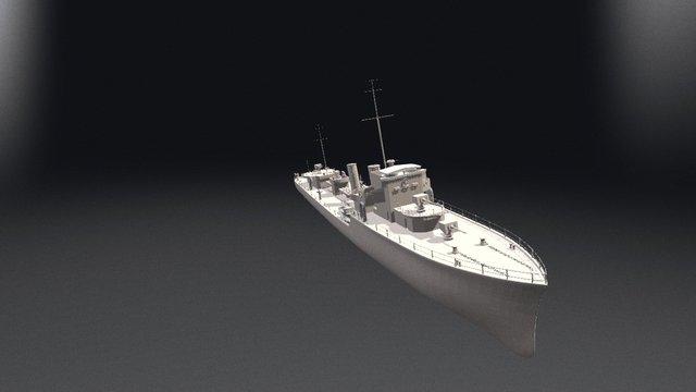 Buques Tipo Serrano 3D Model