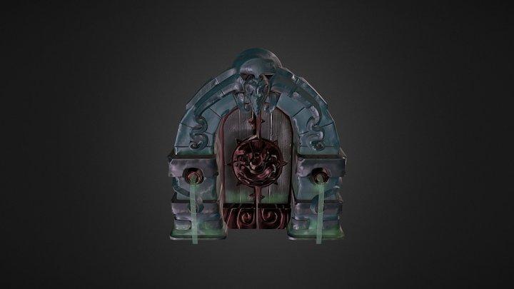 Carter Brock Dungeon Door 3D Model