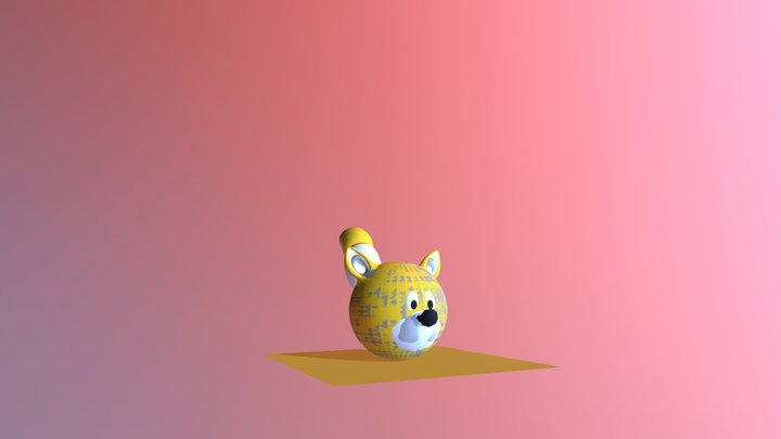 A Ball And His Tails 3D Model