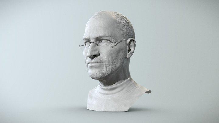 Steve Jobs 3D Model