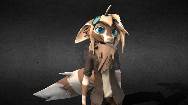Melody Character Sculpt 3D Model
