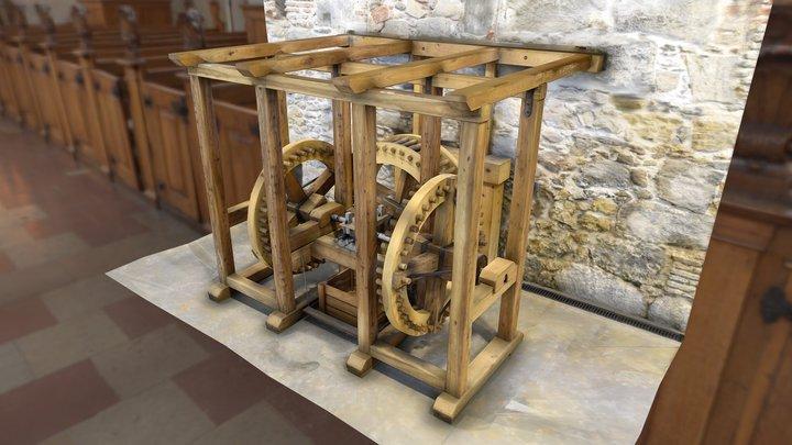 Money Press, Casa de Monedas 3D Model