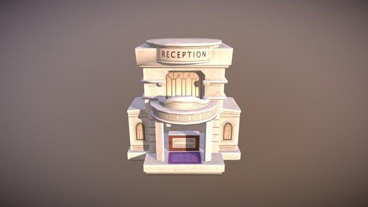 Fancy Reception 3D Model