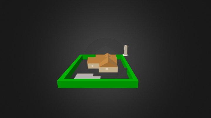 Landmark Tower Maquette 3D 3D Model
