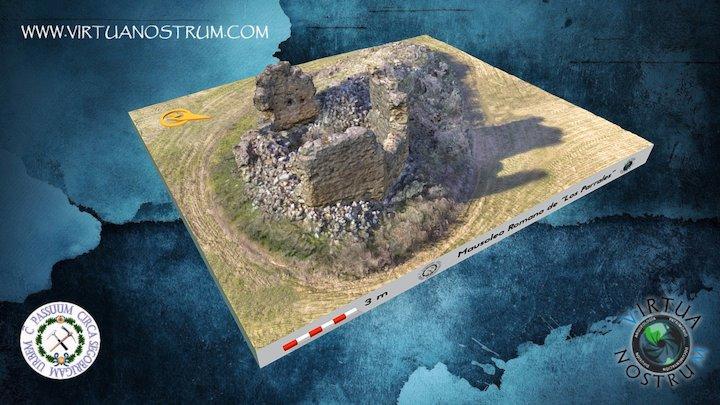 Mausoleo romano de Los Parrales (Huete, Cuenca) 3D Model