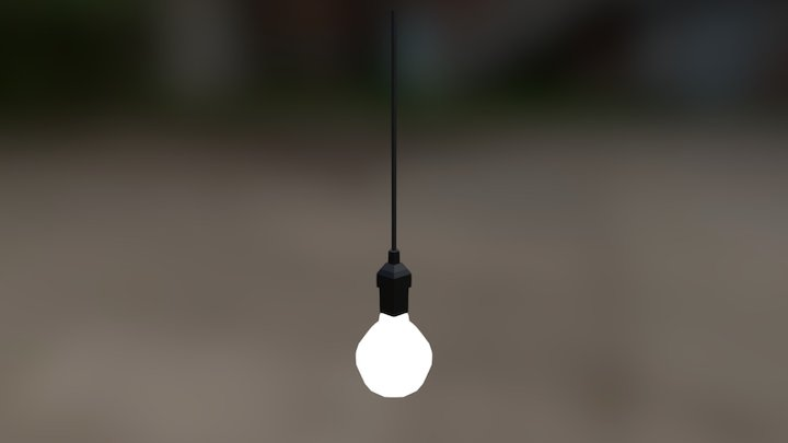 Simple Ceiling Light 3D Model