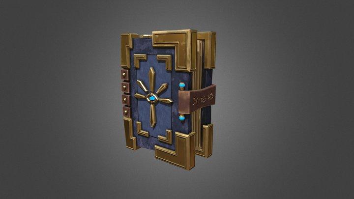 Divine Tome 3D Model