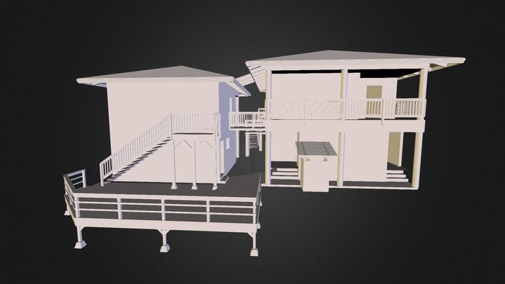 Haena house, 0118b 3D Model