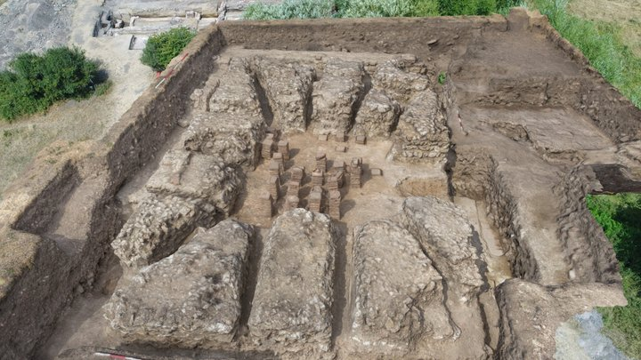Silchester Bath House - Trench 3 - Hypocaust 3D Model