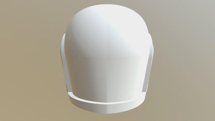 Daft Punk Helmet 2 3D Model
