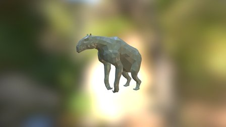 WWB Chalicotherium 3D Model