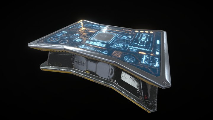 Commander Table - SECIIIU 4 3D Model
