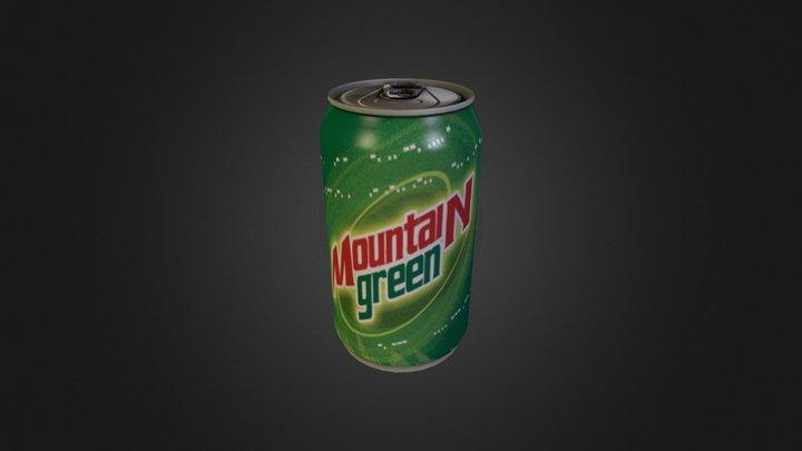 Mountain Green 3D Model