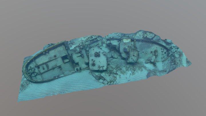 Enriquillo Shipwreck aka USS Stallion (ATA-193) 3D Model
