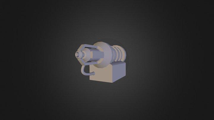 LaserEmitter 3D Model