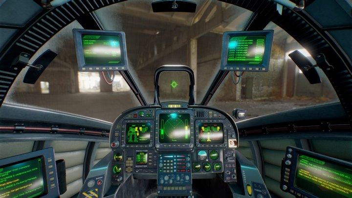 BattleMech Clan Timber-Wolf (1995) Cockpit 3D Model