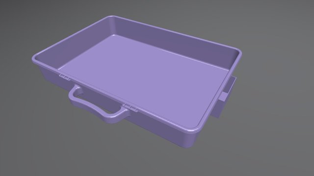Plastic Case 3D Model