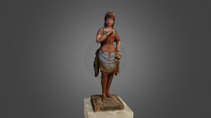 Tobacco Figurine 3D Model