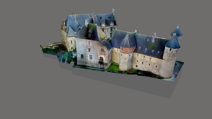Parc de Clères - Château et manoir 3D Model