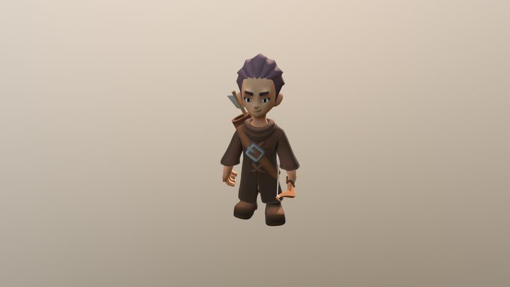 Dying1 3D Model
