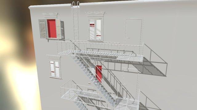 Roof Mod V010 3D Model