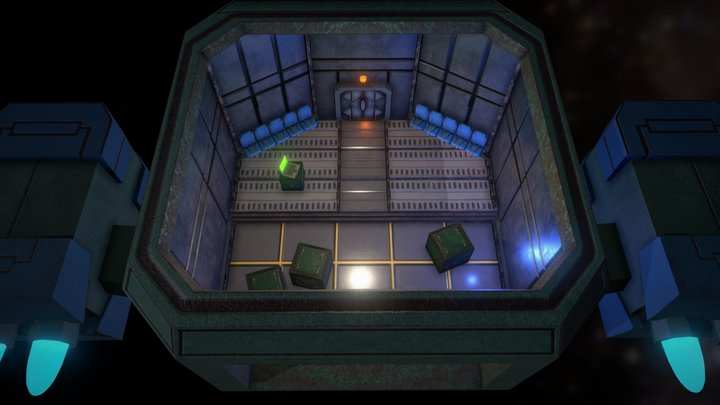Among us Nave map Free 3D Model