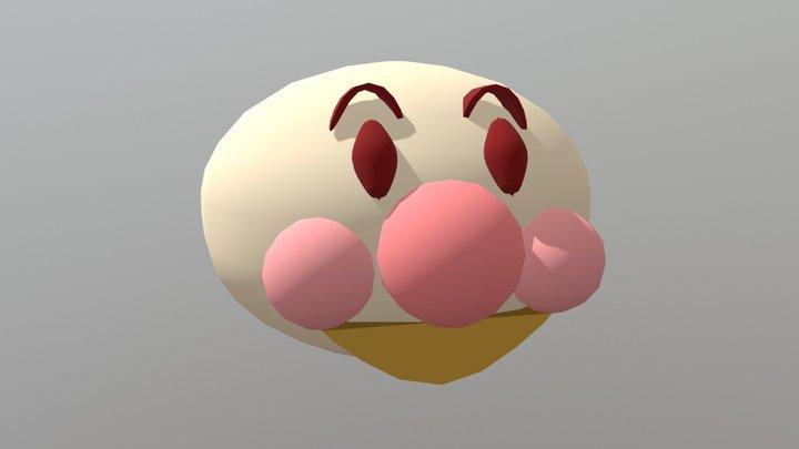 アンパンマン(by こみ) 3D Model