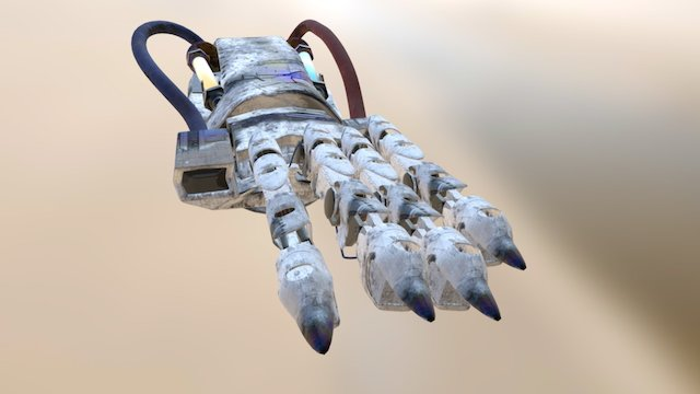 RobotARM01 3D Model