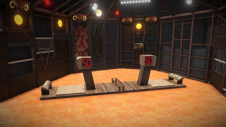 [La Cage] Défi de l'Endurance 3D Model