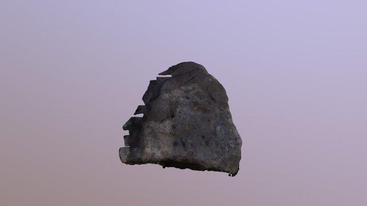 Glendaruel Forest cupmarked rock Scrap ID 1689 3D Model