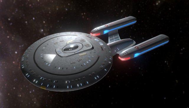 USS Rigel 3D Model