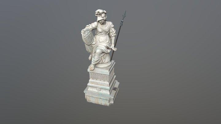 Pallasz Athéné-szobor - Budapest 3D Model