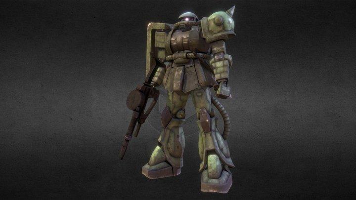 MS-06 Zaku II 3D Model