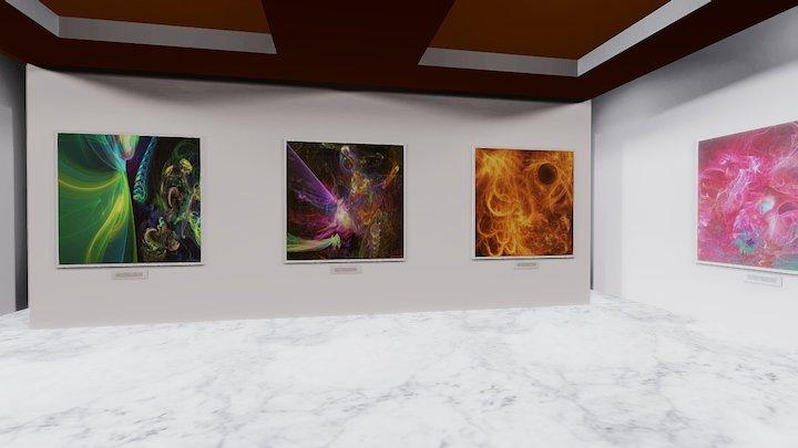 Instamuseum for @sacredsim 3D Model